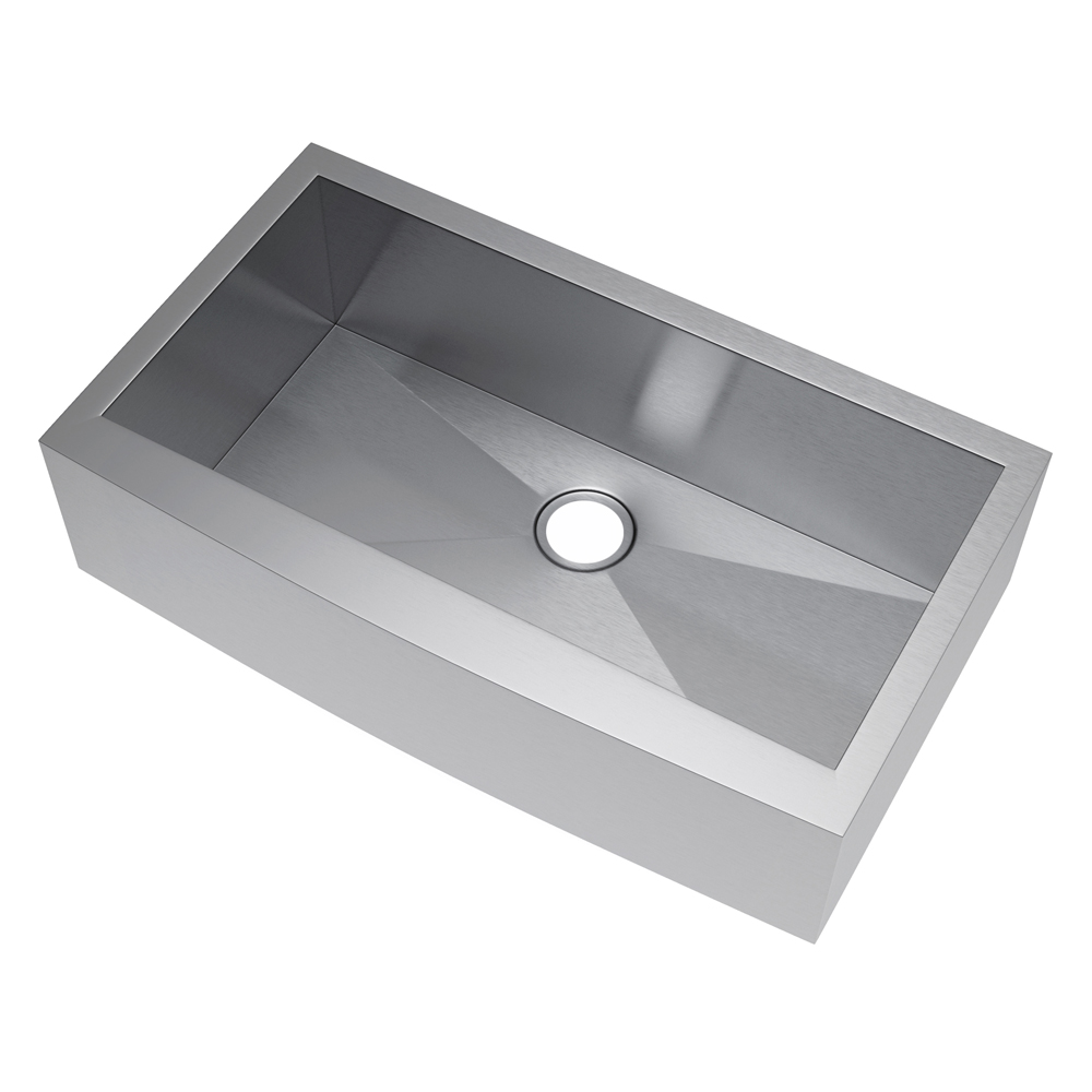 Exclusive Heritage 36 X 21 Single Bowl Stainless Steel