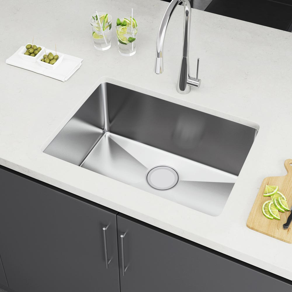 Exclusive heritage 25 x 18 single bowl undermount stainless steel ksh 2518 s ubimage1 workwithnaturefo