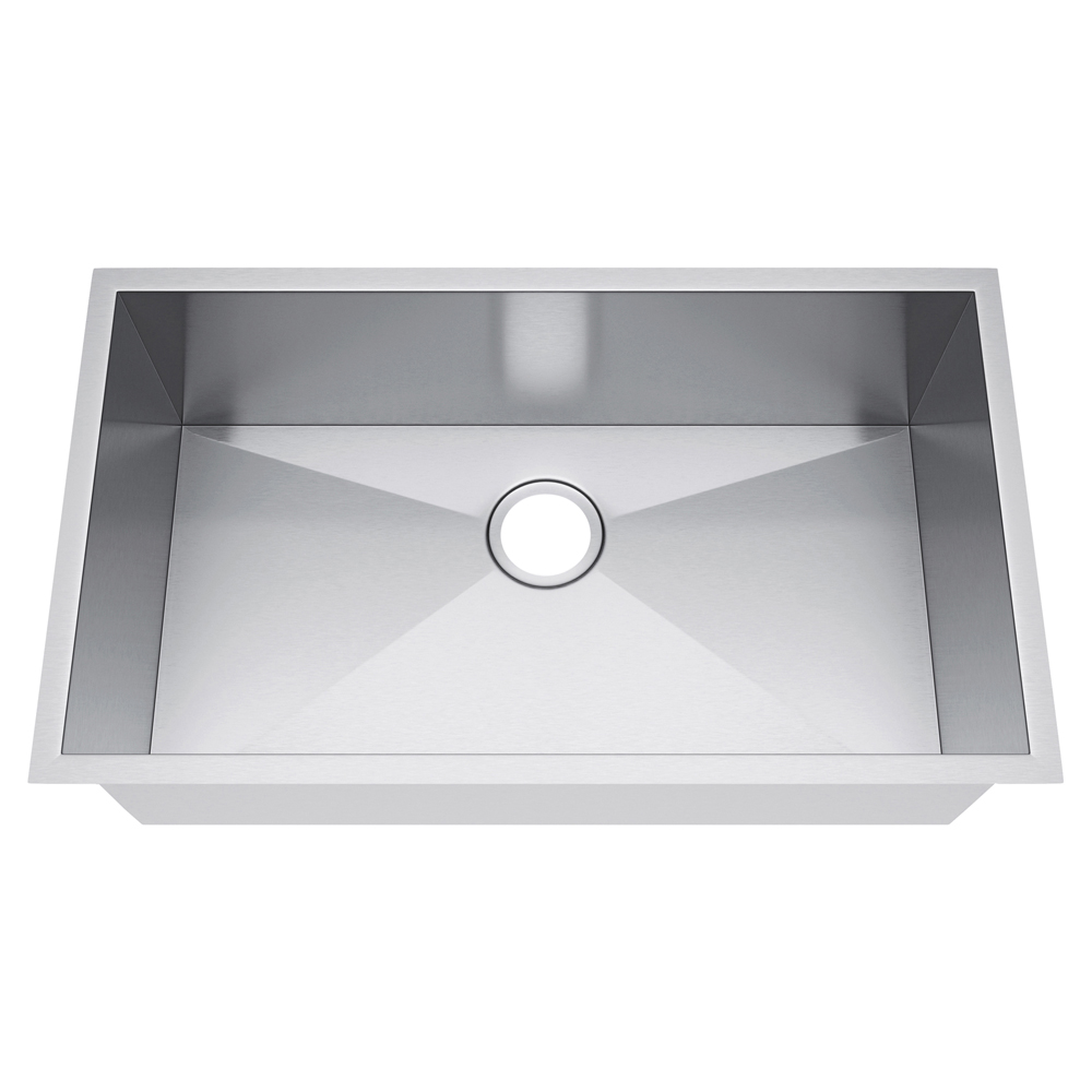 Exclusive Heritage 33 X 19 Single Bowl Undermount Stainless Steel Kitchen Sink Ksh 3319 S Ua